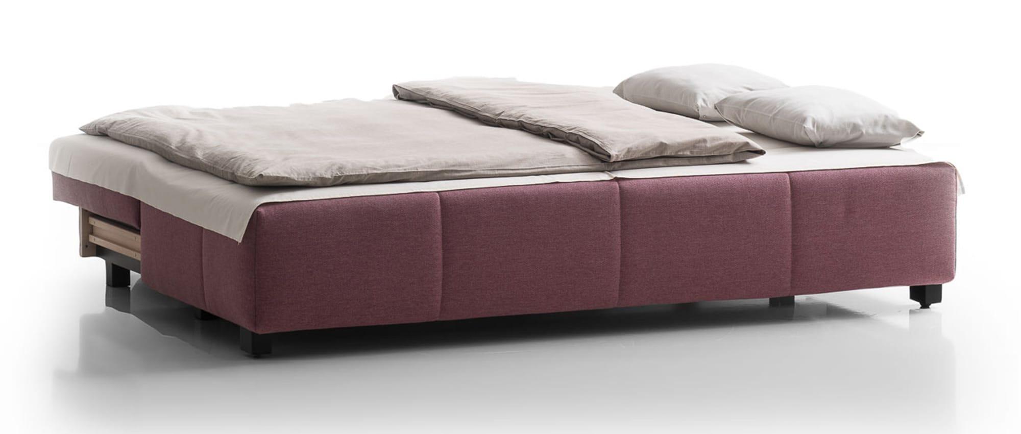 COSTA Schlafsofa mit Bettkasten von Franz Fertig - Liegefläche ca. 155x200 cm. Ideales Gästebett. 2 Personen Schlafsofa.